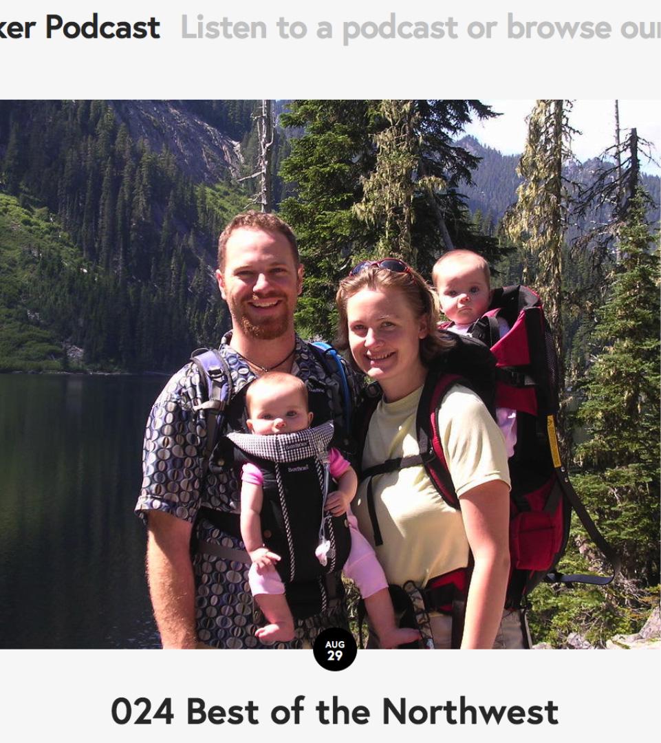 Cascade Hiker Podcast - Listen to Podcast