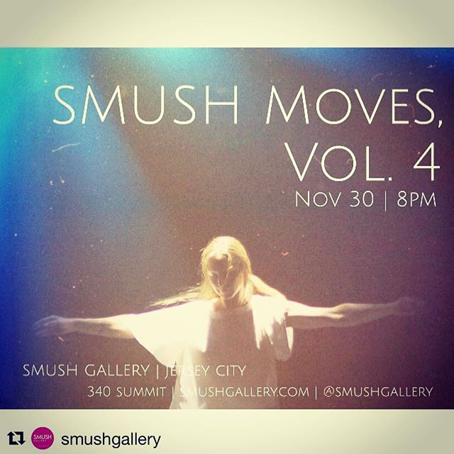 Performing November 30th @smushgallery COME! Do you love great performances in smaller spaces? So do I! One night only for some new explorations and lots of intimacy. @stephanie_nerbak . . #jerseycity #jerseyarts #jerseycityartists #njchoreographer #dancemakers #improvisation #nrootdanceart