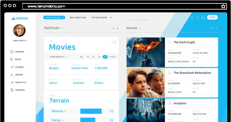 Terrain | Algorithm Management System