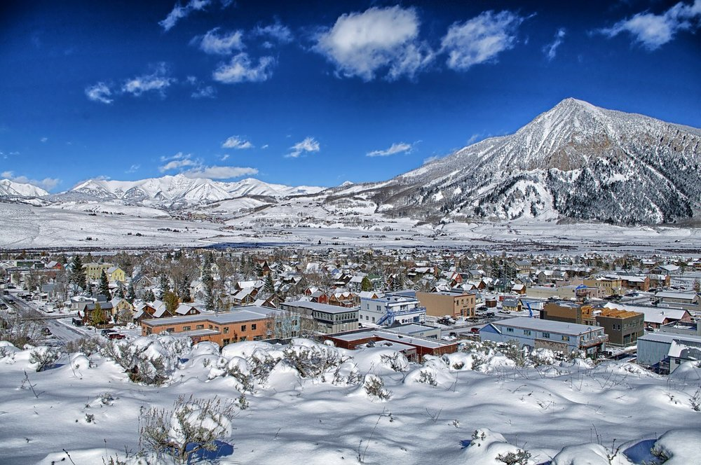 Winter in Crested Butte is just as beautiful as the summer, when the abundant wildflowers bloom and earn Crested Butte the honor of Wildflower Capital of Colorado.