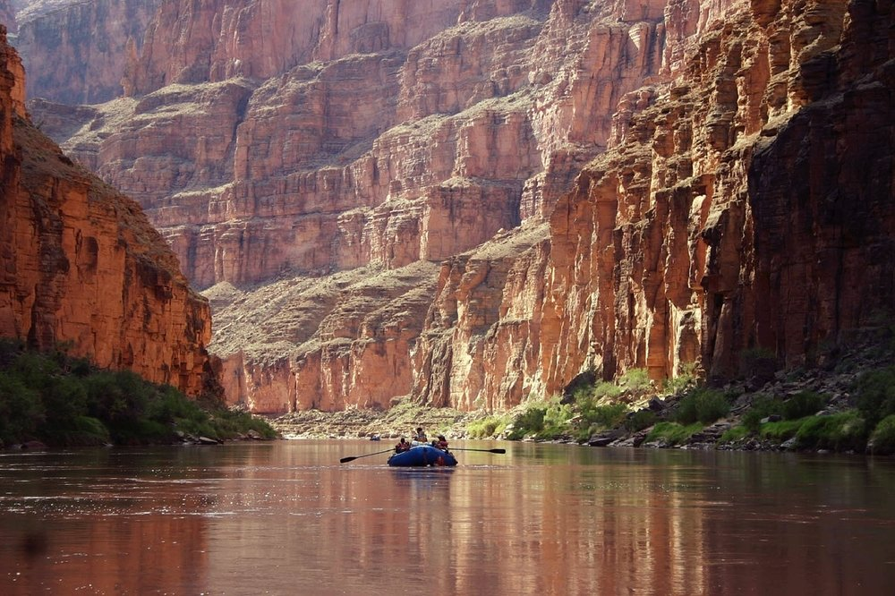 Rafting the Grand Canyon gives you a whole new perspective.