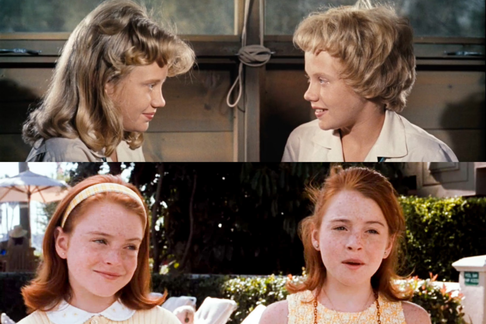 What better a double feature than parent trap? Double movies, double the twins, double the trouble.