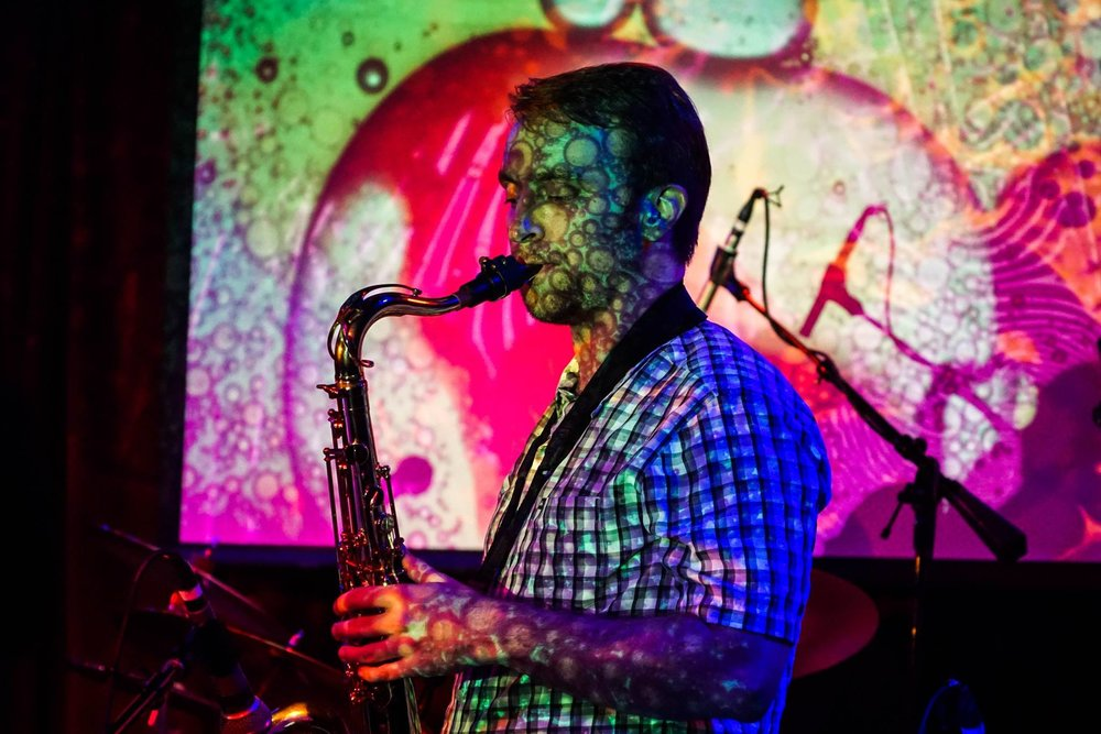 El Metate at Boom Boom Room - Jeremy McCormick - Saxophone