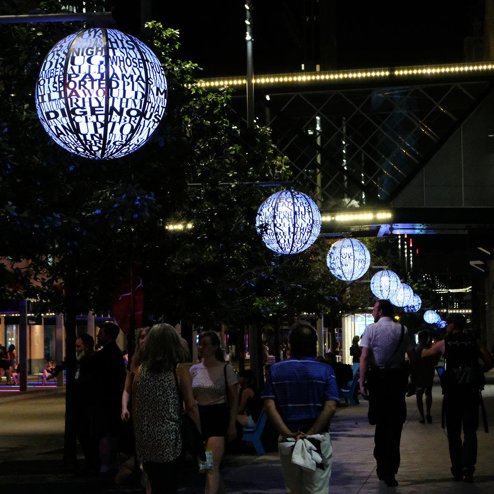 Nicollet Lanterns during Northern Spark, June 2018