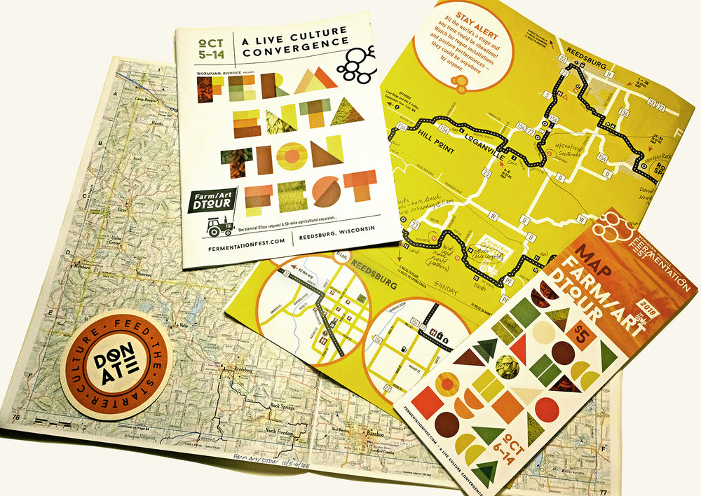 Fermentation Fest Maps and DeLorme Atlas & Gazetteer