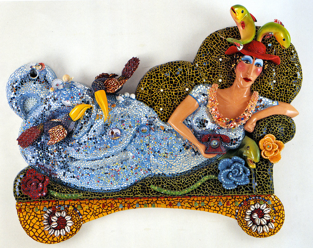 Mermaid on a Sofa, 2003