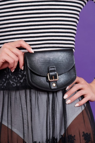 Belted Waist Purse  From Anny - $15.00