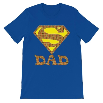 Super Dad Kente Tee, Ruva Afric Wear, $23.00