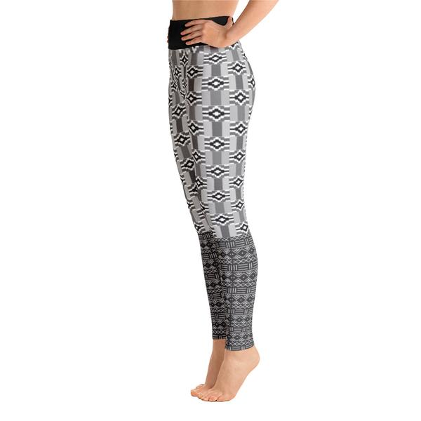 Black & White Kente Leggings, $47.95 - Ruva Afric Wear