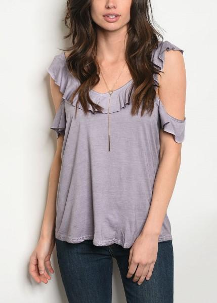 Lilac Cold-Shoulder Top, $19.00 - From Anny