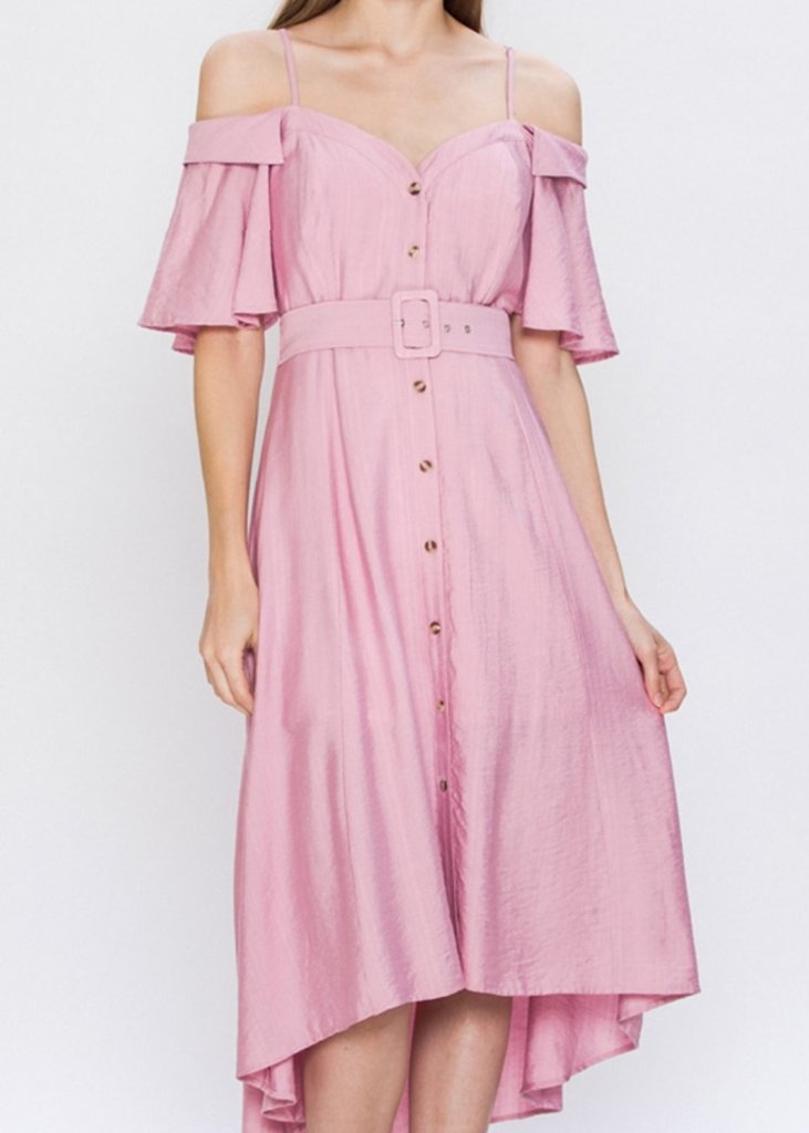 Peony Off-The-Shoulder Dress, $40.00 - From Anny