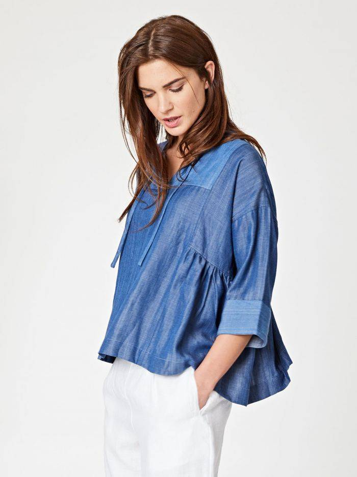 Chambray Top -  Spoils of Wear  $69.00
