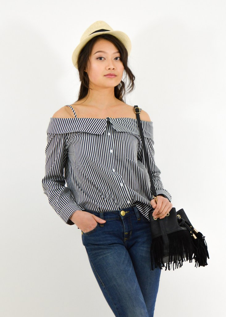 Off-the-Shoulder Tunic -  From Anny  $15.50