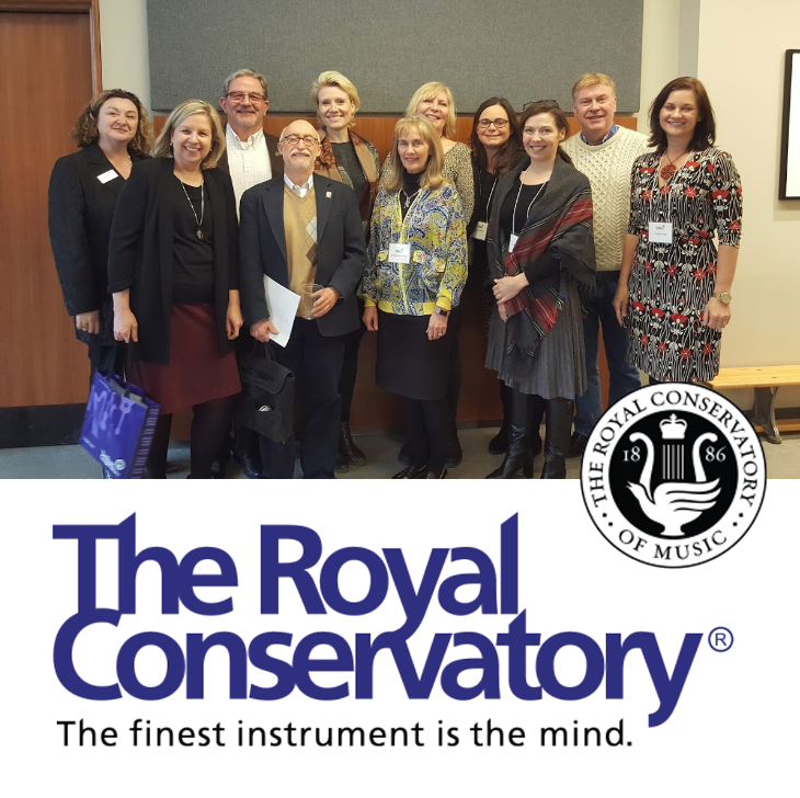 The College of  Examiners  is made up of over 350 distinguished professional teachers. I am pictured here with fellow Voice Examiners at The Royal Conservatory of Music.