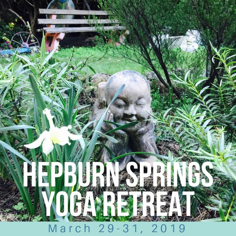 Hepburn Springs Yoga Retreat - Join Janet Lowndes and Gina Macauley for three days of nourishing Yoga in Hepburn Springs