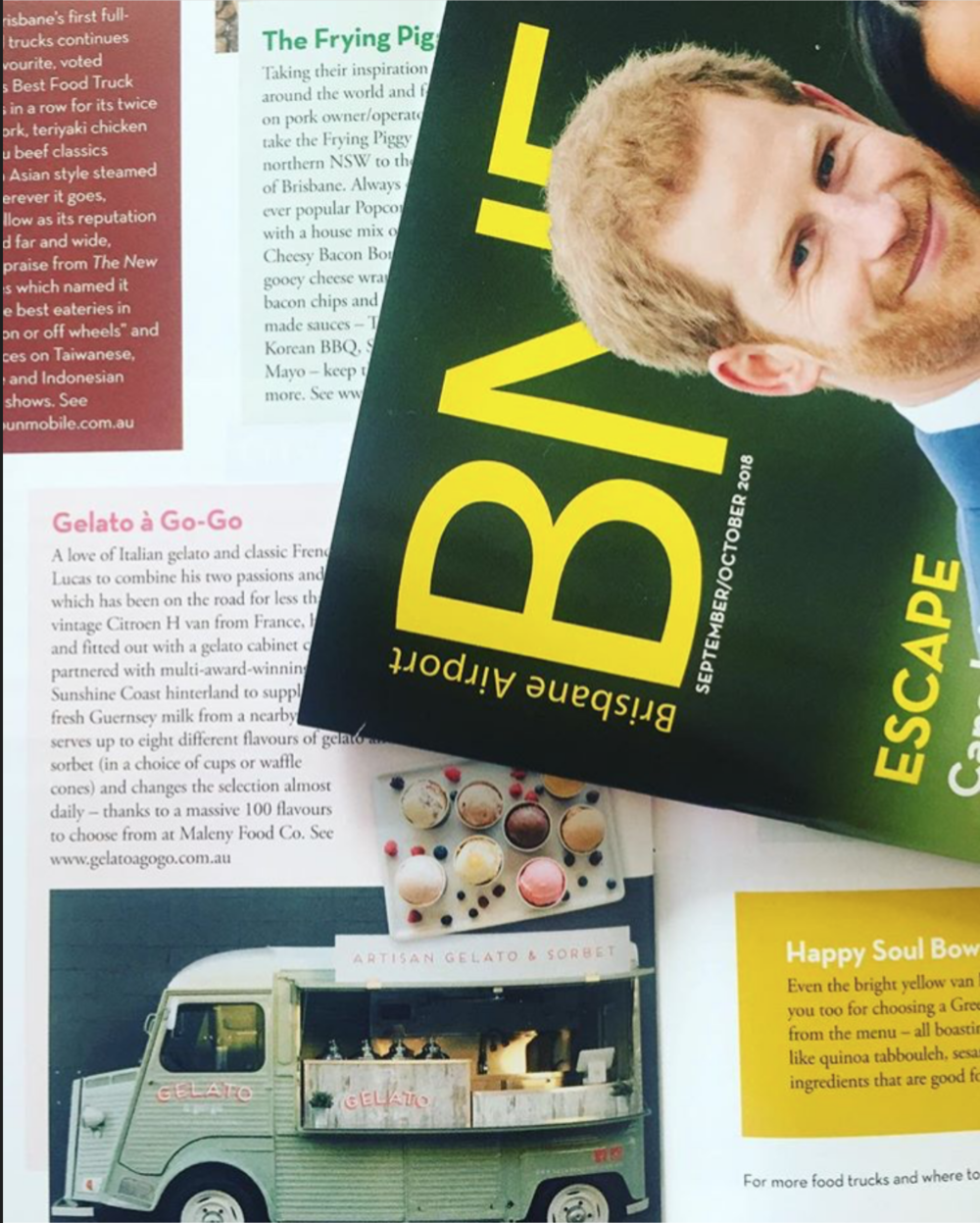 BNE Magazine Gelato a Go Go Best Food Trucks Feature