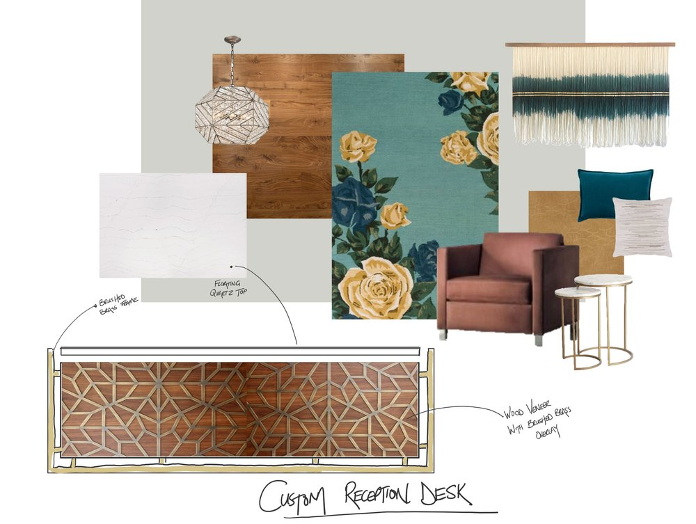 Idea Board - Reception space