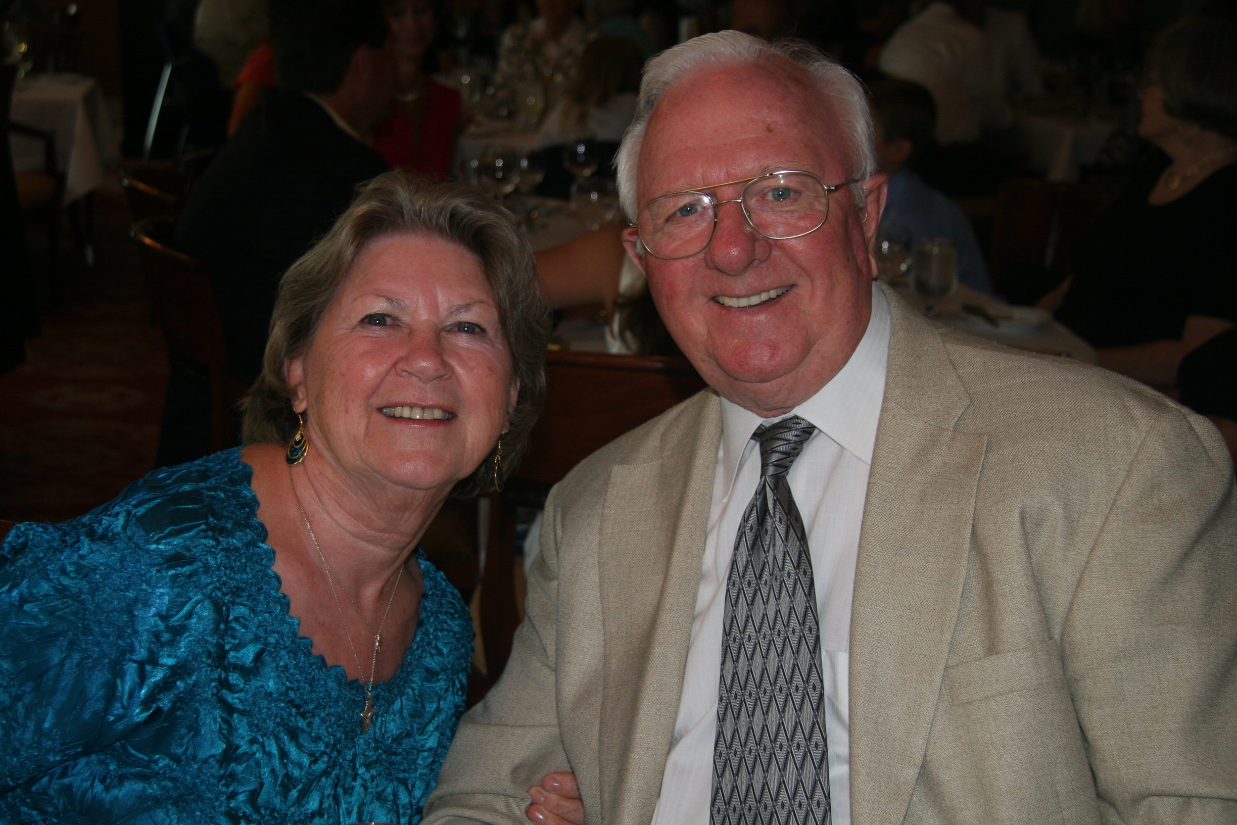 Dad and Mom on their 50th wedding anniversary, in 2011.