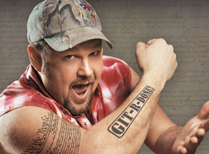Git-R-Done! (Photo: Larry the Cable Guy - http://www.larrythecableguy.com/