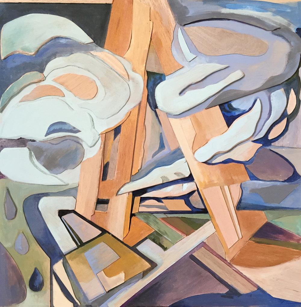 """Frame of Light, 24""""x24"""", 2017"""