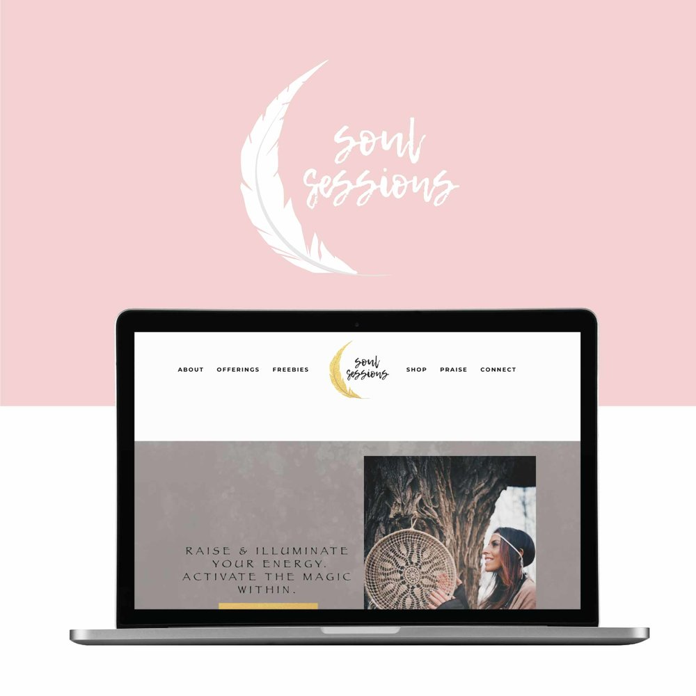 WEBSITE DESIGN - We specialize in Squarespace websites. We create an online space for you to share your voice, your vision, and create your magic! As a Squarespace Circle member, we can offer you a discount on your new subscription website and create custom graphics that align with your brand image.