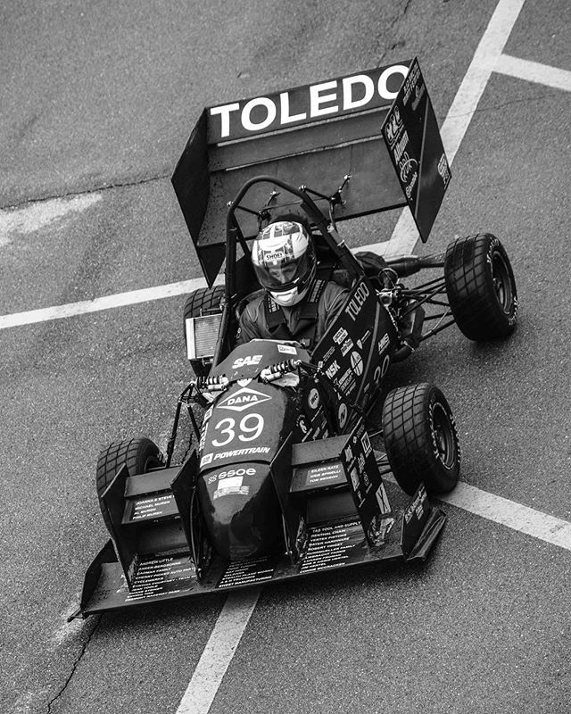 🏁5/7 of the #blackandwhitechallenge 🏁 • Special Thanks to our sponsors! @general-motors @zf_group @lincolnelectric @hinsonracing @dewittsradiator @thyssenkrupp @puretuning @kennametal @motorstatedistributing @hmsmotorsports @slicustom  @profox.racing • #formulasae #fsae #fsaeparts #formulastudent #racecar #racecars #engineering #engineer #studentbuilt #toledoohio #ohio #universityoftoledo  #ut #photography #blackandwhite #nikon #nikonphotography #photo #photooftheday #car #race #camber #suspension #aero #aerodynamics #competition #motorsports #motor #ktm