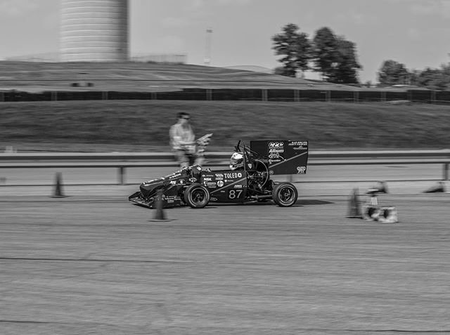 🏁7/7 of the #blackandwhitechallenge 🏁 • As we cross the finish line of this 7 day challenge, we couldn't think of a more fitting picture than UTR-24 crossing the finish line itself! • Special Thanks to our sponsors! @general-motors @zf_group @lincolnelectric @hinsonracing @dewittsradiator @thyssenkrupp @puretuning @kennametal @motorstatedistributing @hmsmotorsports @slicustom  @profox.racing • #formulasae #fsae #fsaeparts #formulastudent #racecar #racecars #engineering #engineer #studentbuilt #toledoohio #ohio #universityoftoledo  #ut #photography #blackandwhite #nikon #nikonphotography #photo #photooftheday #car #race #camber #suspension #aero #aerodynamics #competition #motorsports #motor #ktm