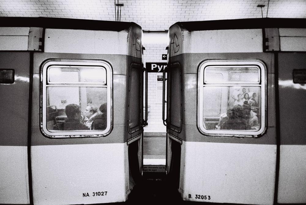 Subway stopped