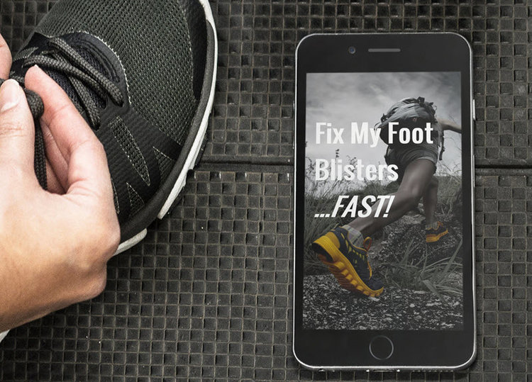"Fast Track Fixing Your Blisters - Join the ""Fix My Foot Blisters FAST"" online FAST action plan for a fast-track to blister-free feet."