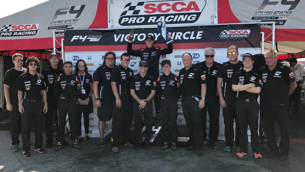 Formula 4 USA - Global Racing Group Team Coach