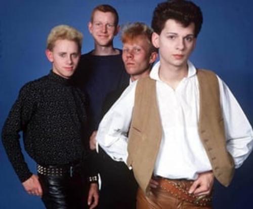 Martin Gore, Andy Fletcher, Vince Clarke, Dave Gahan