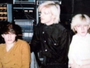 Jansen, Karn, & Sylvian, in studio 1979