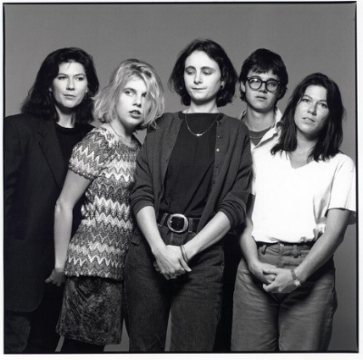 L to R: Kelley Deal, Tanya Donnelly, Josephine Wiggs, Britt Walford, Kim Deal