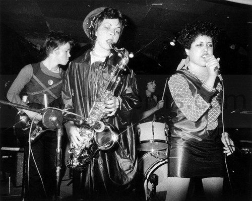 Lora Logic, Poly Styrene, and X-Ray Spex