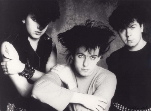 Starting to look like 'The Cure' - Gallup, Smith, Tolhurst