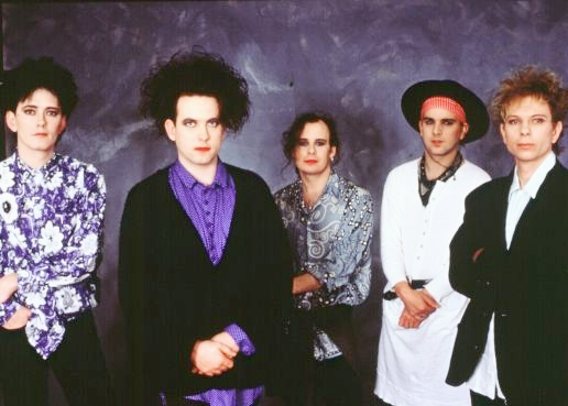 Disintegration Cure: Roger O'Donnell, Robert Smith, Porl Thompson, Simon Gallup,  Boris Williams