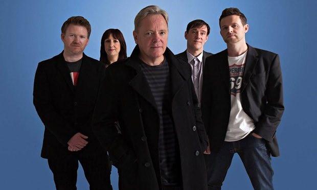New Order today: Phil Cunningham, Gillian Gilbert, Bernard Sumner, Stephen Morris, Tom Chapman
