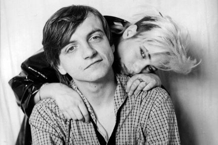 Mark E & Brix Smith of The Fall, circa 1985