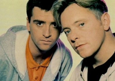 Johnny Marr of The Smiths and Bernard Sumner of New Order, in Electronic