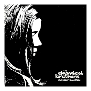 "The cover of  Dig Your Own Hole , .the landmark album by The Chemical Brothers and featuring ""Block Rockin' Beats"""