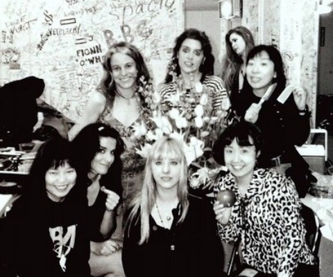 L7 with Shonen Knife, 1991