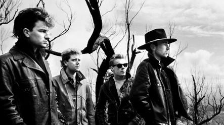 Bono, Clayton, Mullen Jr., and The Edge, 1984