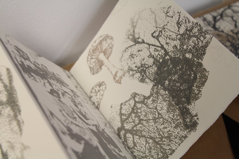 Fragmented Memories Artists Book