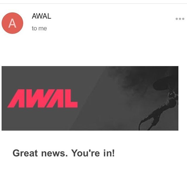Thank you @awal and @kobaltmusic for bringing me on as part of the fam! 🙏🏼❤️🎉