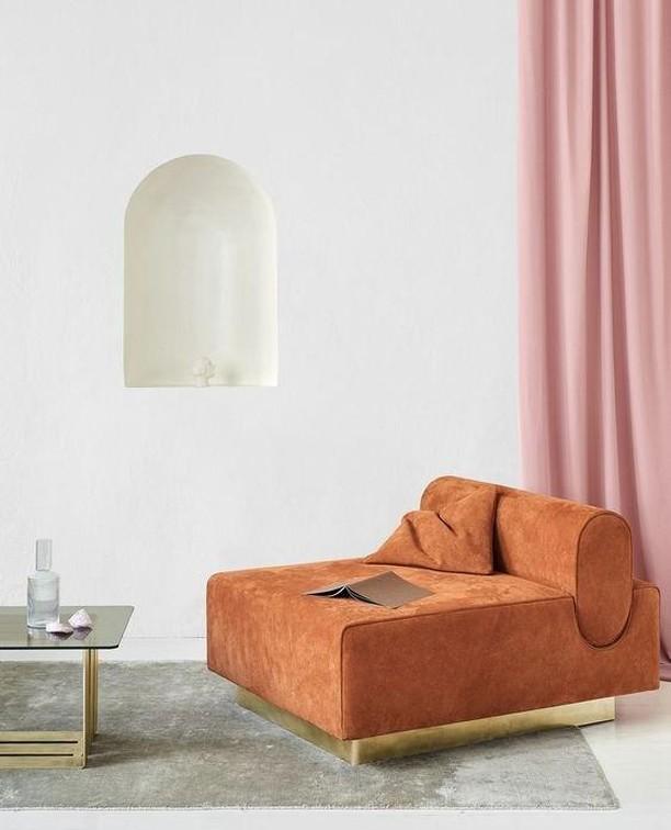 Room to relax in... . . . #minimal #pink #modernist #interior #design #home #decor #homedecor