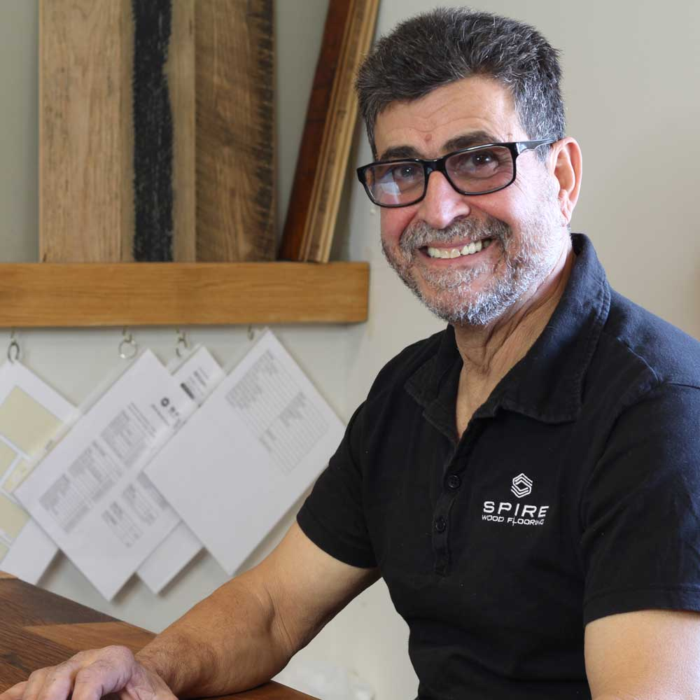 Anthony Palandro II - Founder of Spire Wood Flooring