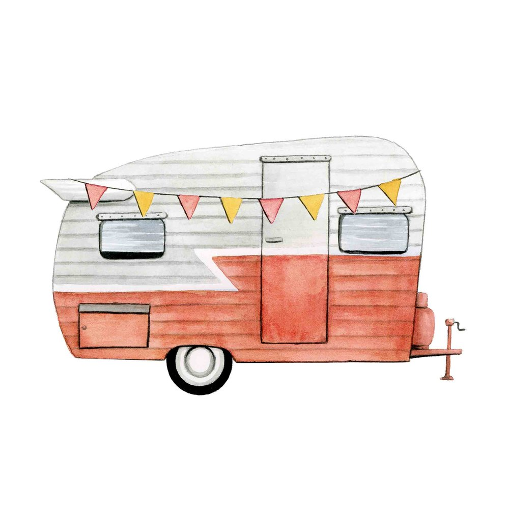 Coral Caravan | Cozy Happy Life