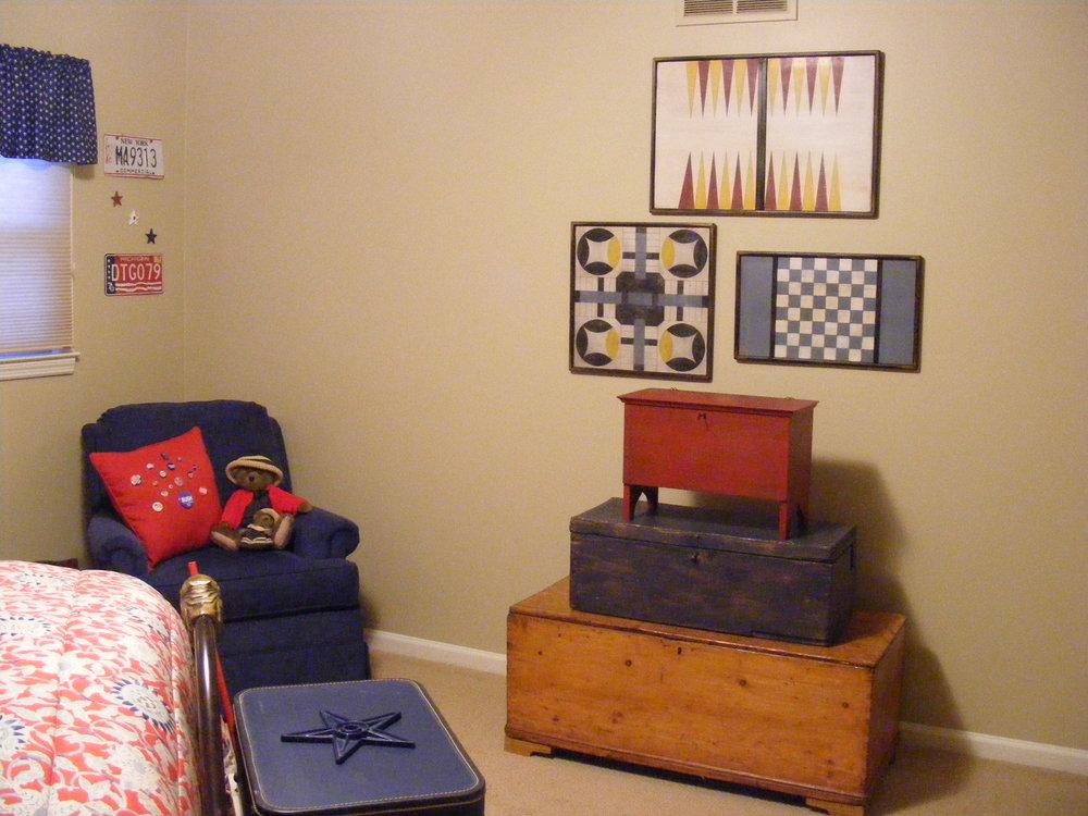 backgammon, home sweet home, blue checker board.jpg