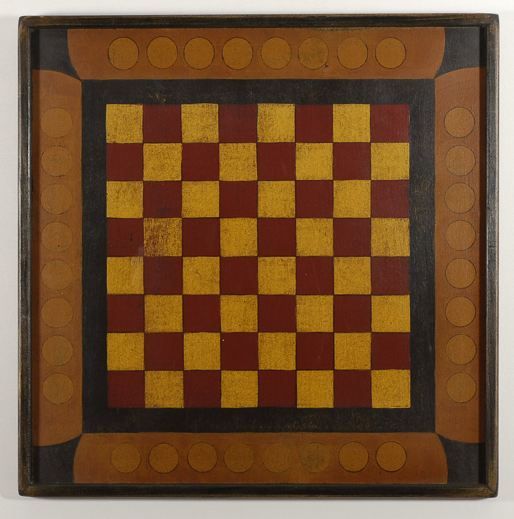 Circus Checker Board