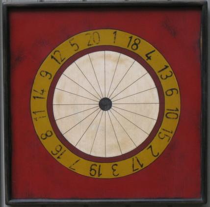 Wheel of Fortune Dart Board